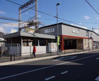 ●近鉄大阪線「長瀬」駅