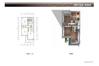 A号地平面図2階