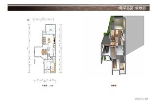 E号地平面図1階